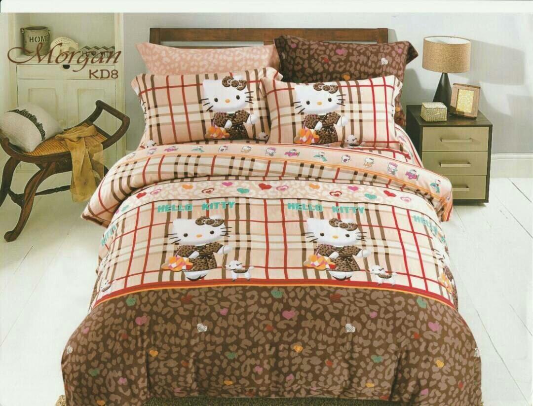 Grosir Sprei Katun Jepang Hello Kitty Makassar Seprei Rp 325000 Dilihat 4028 Kali Beli Motif Kotak
